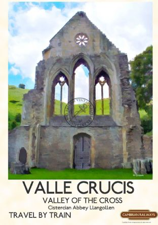 Llangollen, Valle Crucis Abbey, North Wales